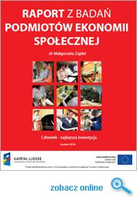 Raport Podmiotów Ekonomii Społecznej